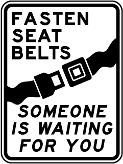 Fasten Seat Belts Sign