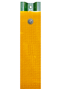 Yellow Reflective U-Channel Post Panel