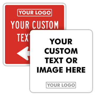 Custom Blank Square Safety Signs