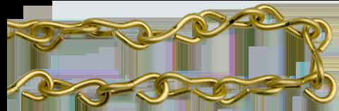 #16 Brass Jack Chain
