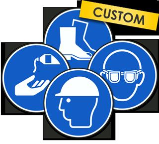 Custom ANSI / ISO Mandatory Symbol