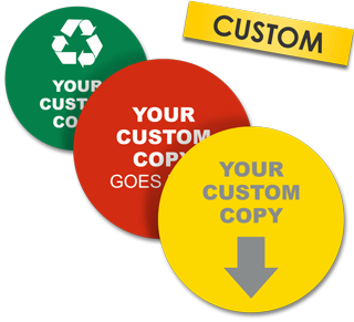 Custom Blank Circle Label