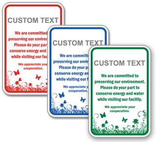 Custom Conservation Sign