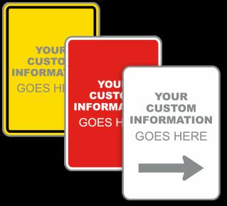 Custom Vertical Blank Label