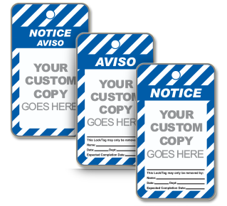 Custom ANSI Notice Tag