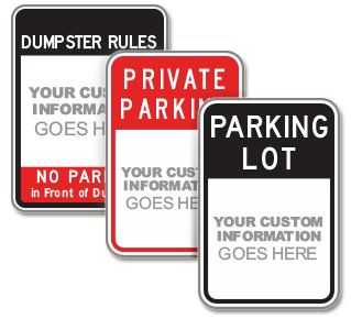 Custom Private Property Parking Sign