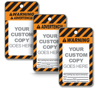 Custom ANSI Warning Tag