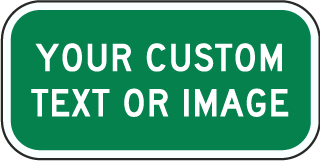 Supplemental Custom Traffic Sign