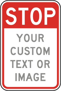 Stop Construction Entrance Signs