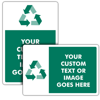 Custom Recycling Signs — 23 Unique Templates