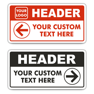 Custom Reserved Parking Signs — 14 x 7""