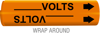 Write-on Volts Wrap-Around Marker