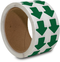 Green Arrow Floor Marking Tape