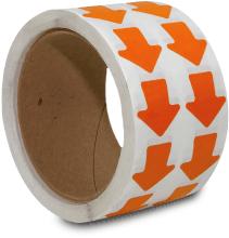 Orange Arrow Floor Marking Tape