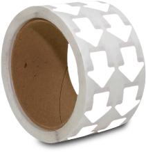 White Arrow Floor Marking Tape