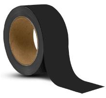 Black Vinyl Floor Marking Tape