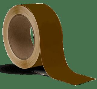 Brown Vinyl Floor Marking Tape