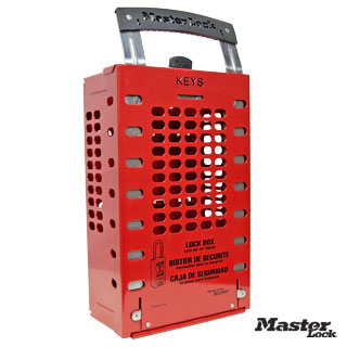 Wall Mount or Portable Group Lock Out Box