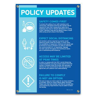 Policy Updates Banner