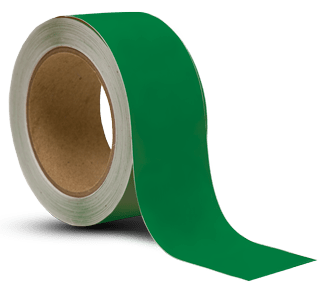 Green Vinyl Floor Marking Tape