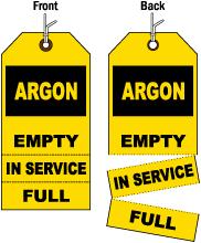 3-Part Argon Status Tag