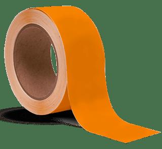 Orange Vinyl Tape