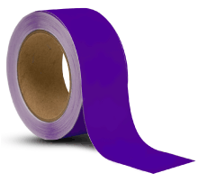 Purple Vinyl Floor Marking Tape