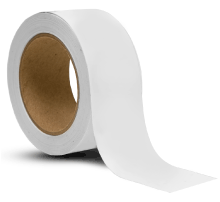 White Vinyl Floor Marking Tape
