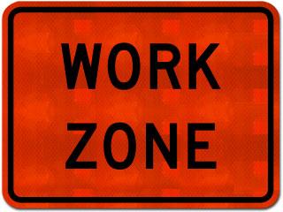 Work Zone Sign