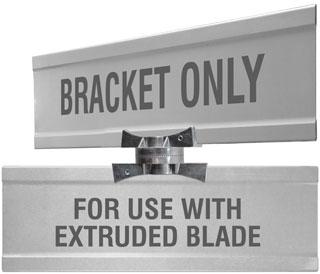 Adjustable Cross Separator Extruded Blade Bracket