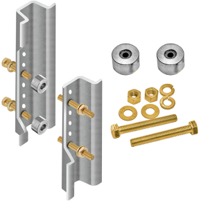 Galvanized U-Channel Post Breakaway Kit