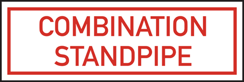 Combination Standpipe Plate