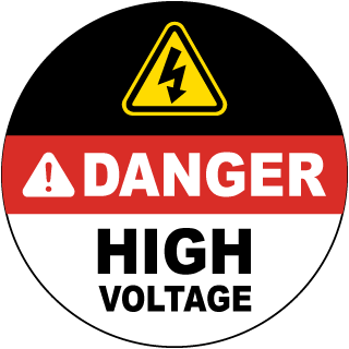 Danger High Voltage.