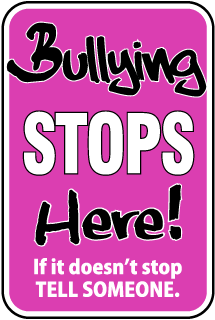 Bullying Stops here if it doesn't stop tell someone