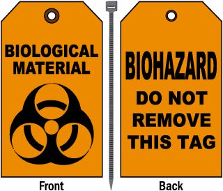 Biological Material Tag