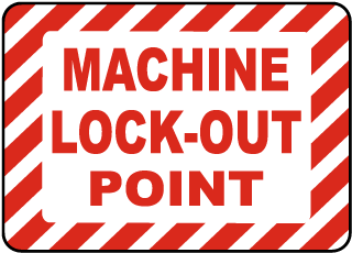 Machine Lock-Out Point