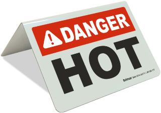 Danger Hot tent