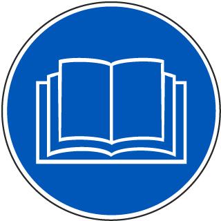 Read Operators Manual Label