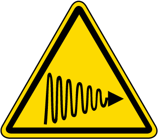 International UV Light Hazard Symbol Label
