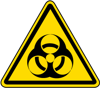 ISO Symbol Warning Biological Hazard Symbol Label
