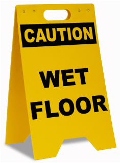 Caution Wet Floor Floor Sign