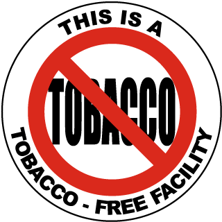 This Is A Tobacco-Free Facility Label