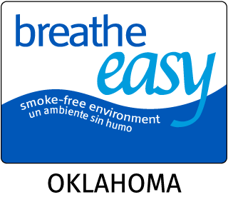 Oklahoma No Smoking Sign