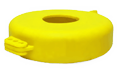 Yellow Valve Lockout available in 5 sizes.