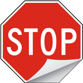 Stop Label