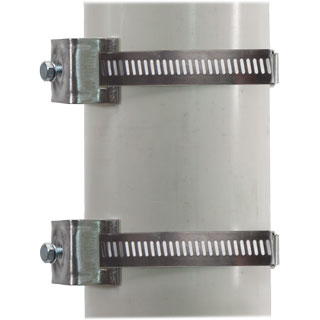 Adjustable Large Round Post Brackets