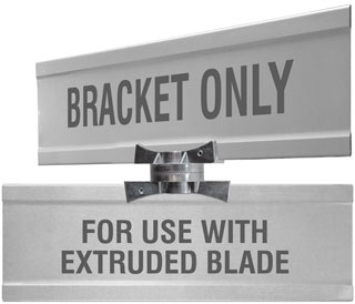 Adjustable Cross Separator For Extruded Blade Street Name Signs