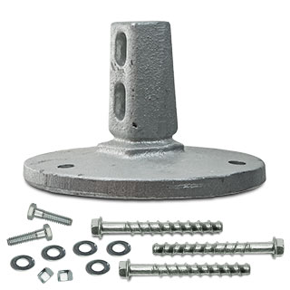 SNAP'n SAFE Surface Mount Breakaway Anchor For U-Channel Post