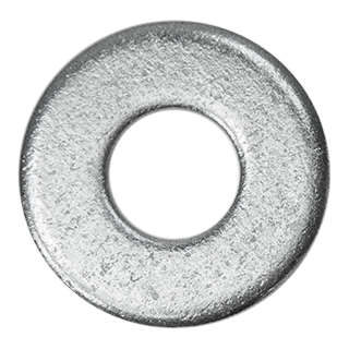 5/16'' Steel Washers Pkgs of 10