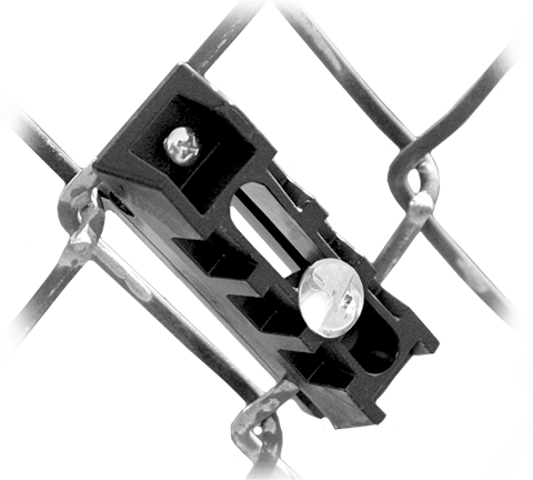 Tamper Resistant SignGuardian™ Chain Link Fence Bracket